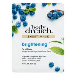 Body Drench Sheet Mask Brightening, kirkastava kasvonaamio