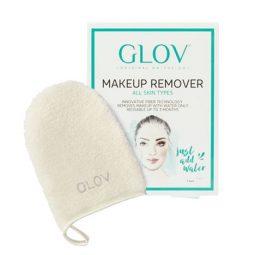 GLOV All Skin Types -puhdistuskinnas Ivory, valkoinen