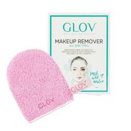 GLOV All Skin Types -puhdistuskinnas Cozy Rosie, vaaleanpunainen